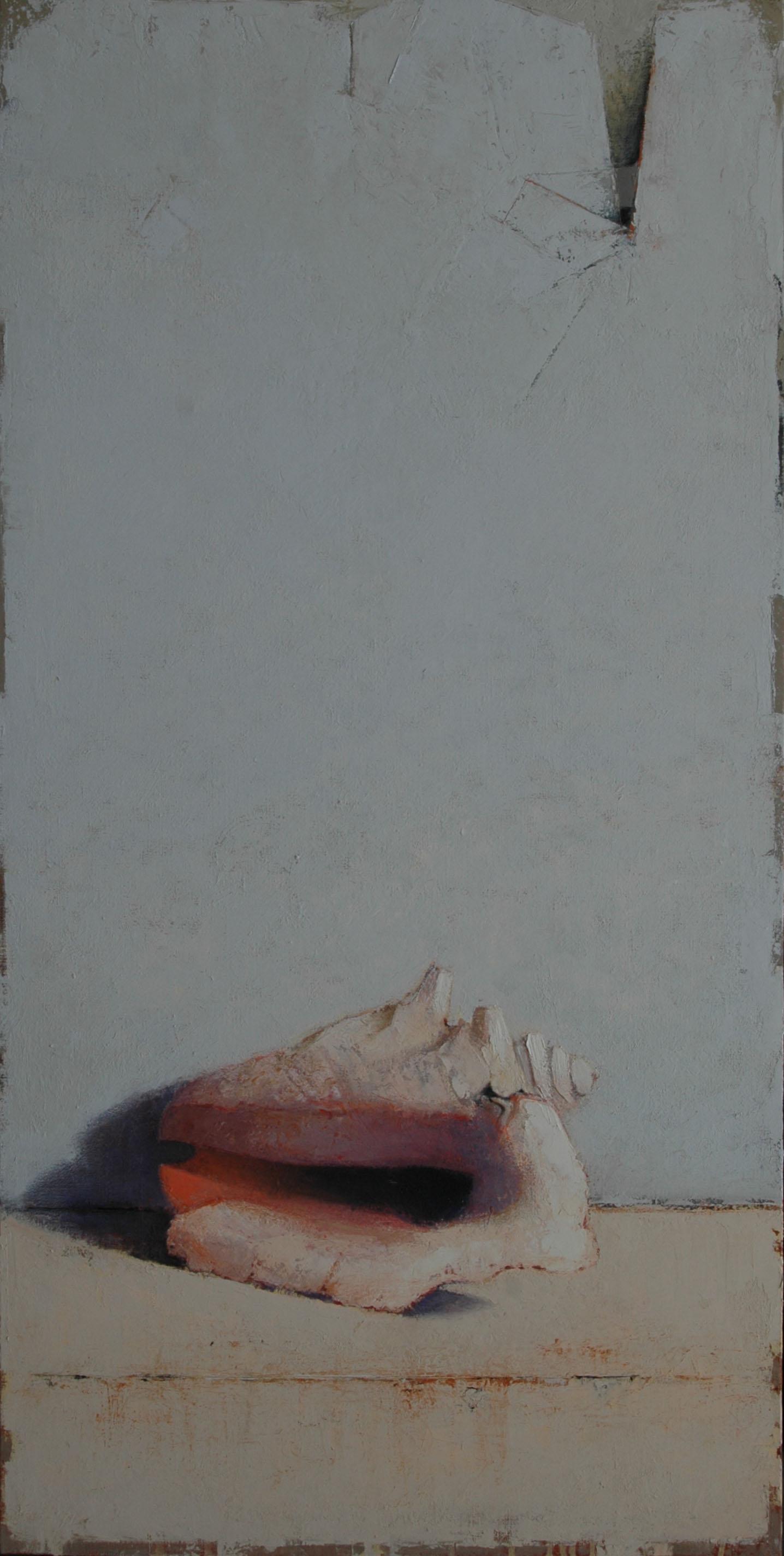 """ le coquillage "" HST 120X60 CM 6 2010"