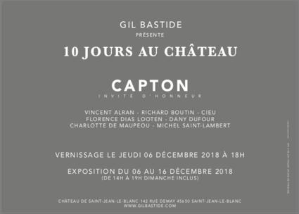 Carton expo 10 jours au chateau 2018